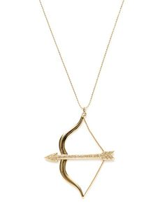 Archery necklace I would totally wear... @ Sarah Violette we should get matching ones!!!