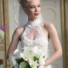 O vestido de noiva de Aurora em Joia Rara