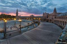 Sevilla Has Special Colors