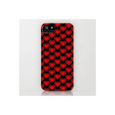 Love Hearts iPhone Case ❤ liked on Polyvore