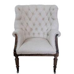 White x White Taverny Arm Chair & Reviews   Wayfair