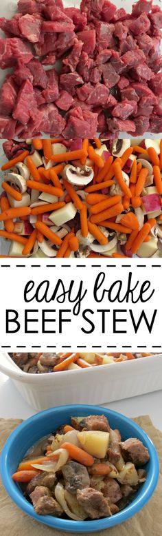 Easy Bake Beef Stew