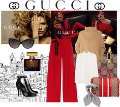 """""""Icons of Heritage with Gucci"""" by missfroggy on Polyvore"""