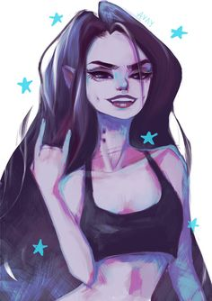 Marceline by Avvyraptor on DeviantArt Tags: Adventure Time Marceline Abadeer Marcy Vampire Queen