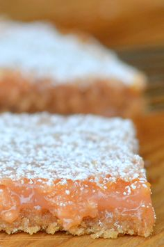 One-Bowl Pink Grapefruit Bars