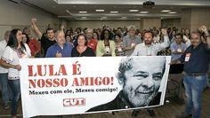 Folha do Sul - Blog do Paulão no ar desde 15/4/2012: LULA EM REUNIÃO NA CUT