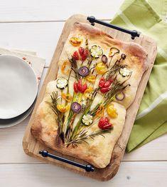 Blumenstrauß Focaccia - schnelles Rezept | Tante Fanny
