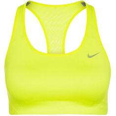 Nike Performance SHAPE BRA 2.0 Sports bra ($33) ❤ liked on Polyvore featuring activewear, sports bras, sport, nike, athletic, shirts, green, sports bra, nike shirts and athletic sportswear