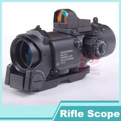 Online Shop 2014 New 4x fixed dual purpose scope with mini red dot scope red dot sight for rifle hunting shooting HT6-0005|Aliexpress Mobile