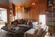 Country Club French Tudor-Summer Thornton Design-08-1 Kindesign
