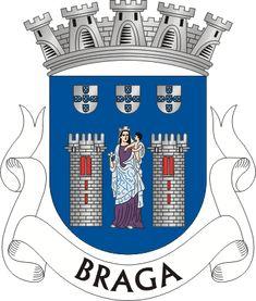 Brasão de Braga - Braga é uma cidade portuguesa situada ao Norte de Portugal, a terceira em extensão após Lisboa e Porto. É sede dum município com 183,4 Km² de área, uma população de 181 494 habitantes (2011)[1] e 137 000 habitantes no seu perímetro urbano (2012), sendo o centro da antiga região denominada Minho, com mais de um milhão de habitantes