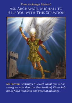 Oracle Card Ask Archangel Michael To Help You With This Situation | Doreen Virtue - Official Angel Therapy Website