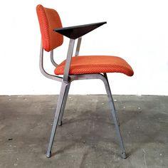 Orange Revolt chair by Friso Kramer for Ahrend de Cirkel Orange, Chair, Furniture, Vintage, Design, Home Decor, Decoration Home, Room Decor