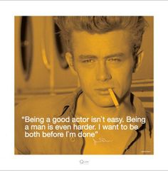 Before I'm Done - James Dean Quote
