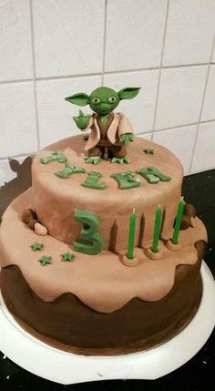 Star wars Yoda taart
