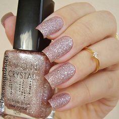 Esmalte Avon Rosa Crystal