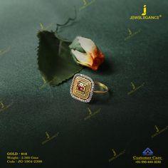 Antique Jewellery Designs, Gold Ring Designs, Gold Earrings Designs, Gold Jewellery Design, Gold Toe Rings, Gold Rings Jewelry, Diamond Earrings Indian, Stone Ring Design, Vanki Ring