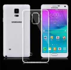 Samsung Galaxy Note 4 Clear Color Soft Gel Case CoverUltra Transparent Shell TPU #UnbrandedGeneric