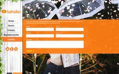 Desenvolvimento do site da Coleção Verão 2012 da Bahsiko Jeans, marca do Grupo Latreille.