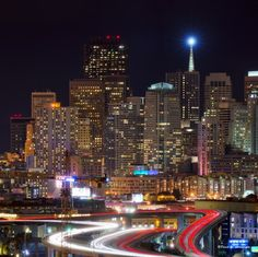 Downtown San Francisco, California.