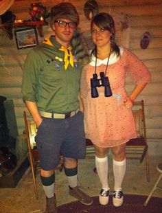 Sam and Suzy From Moonrise Kingdom: Yet another dapper couple's costume idea inspired by the mind of Wes Anderson.
