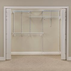 This Easy To Configure And Adjule Wire Organizer Kit Features Hanging E Shelf Fits A Closet From Wide