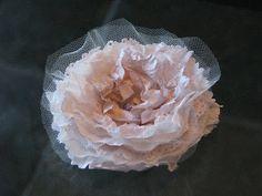 handmade fabric flower tutorial