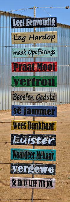 Home Decor  | Huis Dekor Hout Muur Kuns Wooden Wall Art  Suid Afrika Platteland Dekor