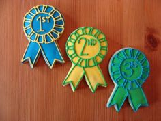 Sweet Treats by Bonnie: Award Ribbon Cookies