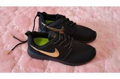 Kicks Culture From Nike Roshe Run Black Gold Womens Mens Meaning Of Individuality. Love the black and peach. Not the Roshe.