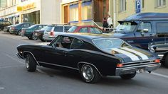 American Cars In Finland. '68 Chevelle SS