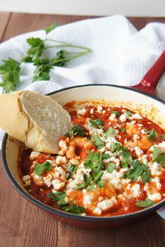 Prawn Saganaki | Close Encounters of the Cooking Kind