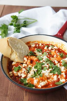 Prawn Saganaki | Close Encounters of the Cooking Kind