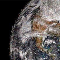 "NASA released a stunning, down-to-earth portrait of the globe yesterday from its #GlobalSelfie Earth Day project. The 360-degree mosaic of 36,422 selfies spanning 3.2 gigapixels of data answers the question NASA asked people all around the world on Earth Day: ""Where are you on Earth right now?"""
