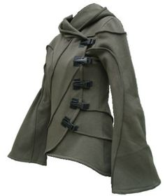@ Diana Kontsevaia, Vodabox - Army Green Hooded Cyber Jacket [10V520pl] - £83.99 : Gothic Clothing, Gothic Boots & Gothic Jewellery. New Rock Boots, goth clothing & goth jewellery. Goth boots and alternative clothing