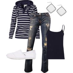 Would love this with colored jeans even more!