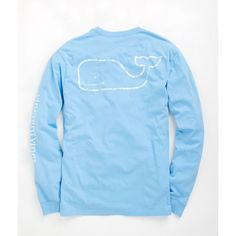 Shop Long-Sleeve Vintage Graphic T-Shirt at vineyard vines ($42) ❤ liked on Polyvore featuring tops, t-shirts, shirts, long sleeve t shirts, long sleeve graphic t shirts, long sleeve cotton shirts, graphic tees and long sleeve tees