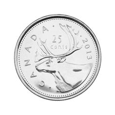 40 best circulation coins images canadian coins coin collecting mint 1953 5 Dollar Bill Back 2013 25 cent coin reverse