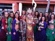 Pregó de la Magdalena 2013 con Ana Botella y sus magnificas bailarinas