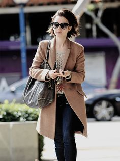 Lily Collins leaving her apartment in LA on March 7, 2016