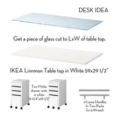 My desk idea