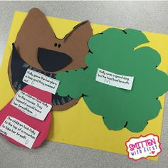 main idea craftivity Dog Breath by Dav Pilkey