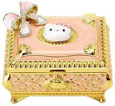 Brand New Sanrio Hello Kitty jewelry box ribbon gift