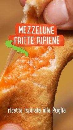 Snack Recipes, Cooking Recipes, Snacks, Focaccia Pizza, Confort Food, Sem Lactose, Calamari, Antipasto, Hot Dog Buns