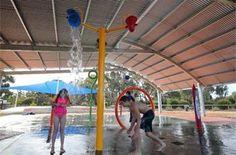 water park - Deniliquin caravan and camping park family fun activities Holiday Park, Caravan, Activities For Kids, Scenery, Camping, Water, Campsite, Gripe Water, Truck Camper