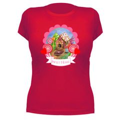Camiseta Sweet home - pendientera