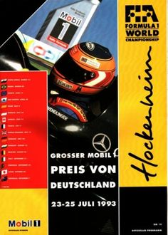 1993 GP-Deutschland-(Hockenheim) - Grands Prix Germany • STATS F1