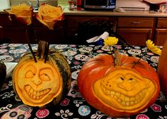 Pumpkin Pictures, Halloween 2019, Pumpkin Carving, Art, Art Background, Kunst, Pumpkin Carvings, Performing Arts, Art Education Resources