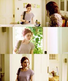 Clary fray/// look mom that person's wearing stripes Louis likes those