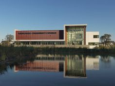 Waubonsee Community College Plano Classroom Building,© Jim Steinkamp Photography